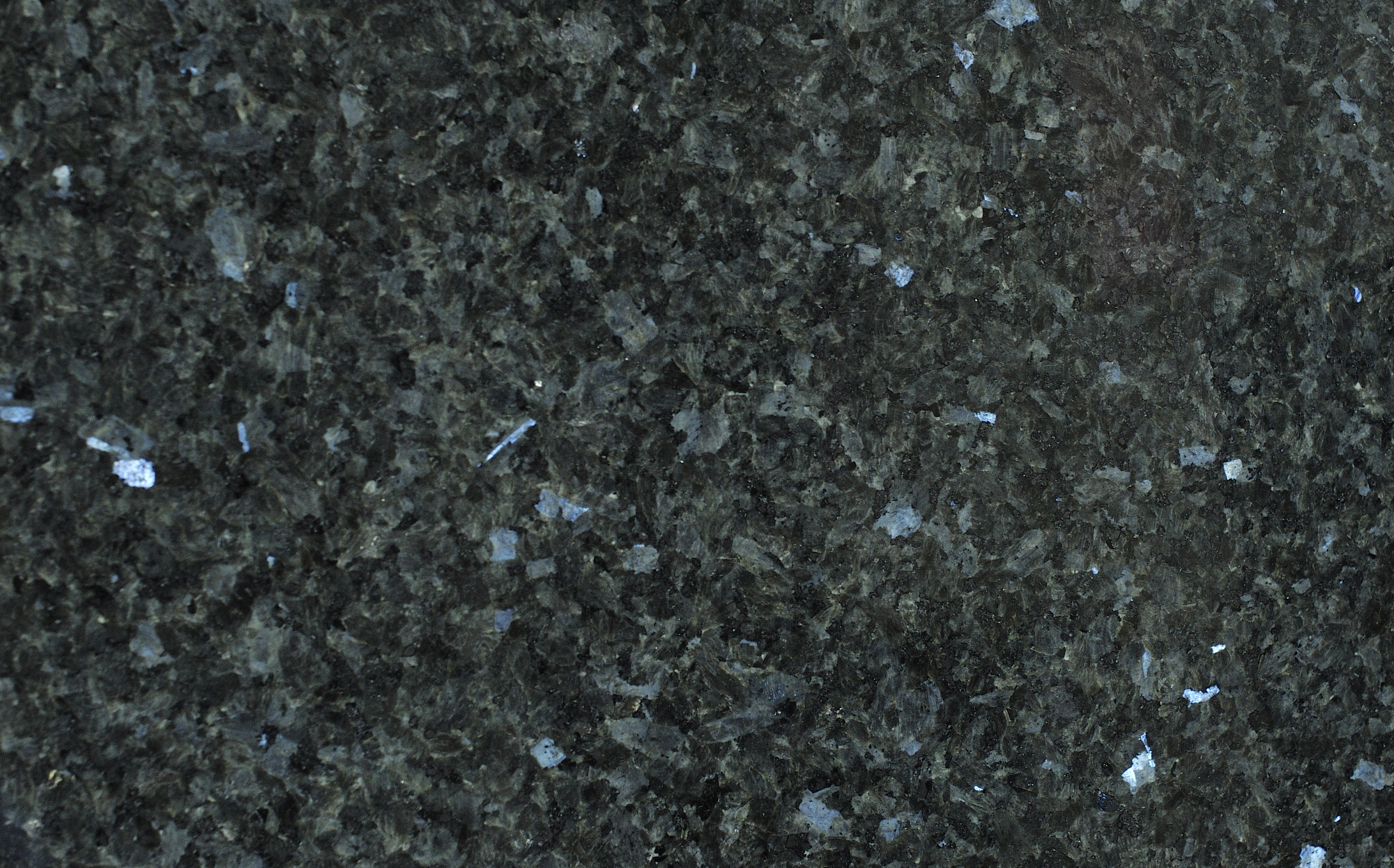 Emerald Pearl Granite White Kitchen