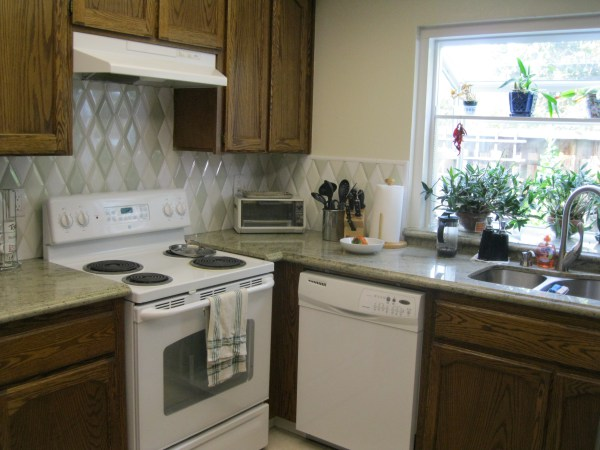 Our Client, Mountain View Homeowners Moved In Several Years And Did Not  Like Their Tile Counter Top Surfaces Any More. They Initially Came Into Our  Showroom ...