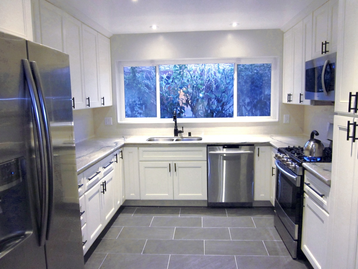 Aquarelle - White Kitchen - Artistic Stone Kitchen and BathArtistic ...