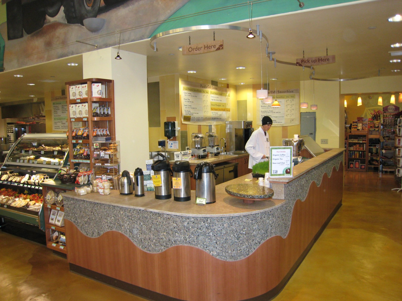 Wholefoods Bottlestone Counter
