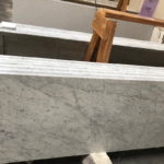 Marble Carrera White Polished Ogee Bullnose